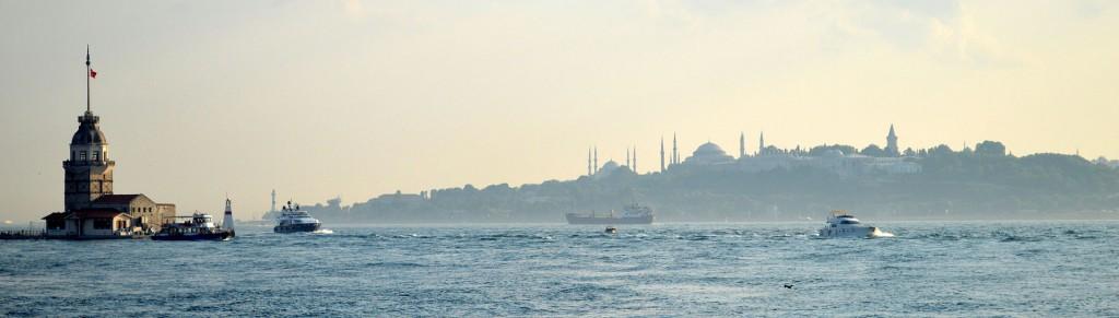 Wieża Leandra w Stambule, fot. Sadrettin CC BY-SA 3.0